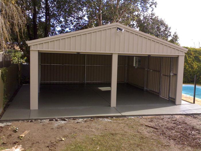 Garage and shed concrete slabs archives for Concrete slab for garage